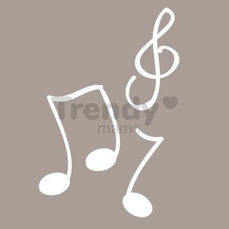 Plyšové kuriatko Colors-Mini Musicals Kaloo spievajúce 12 cm pre najmenších bodkované