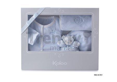 Súprava doplnkov pre najmenších Perle-Gift Set Kaloo modrá od 0 mesiacov