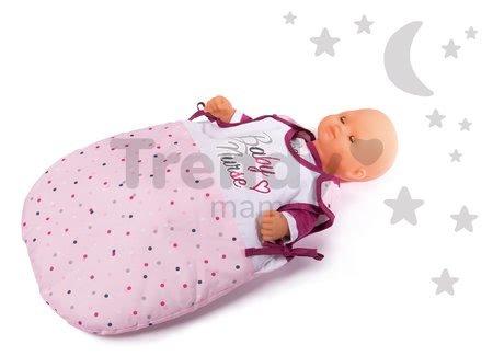 Spací vak s bodkami Baby Nurse Violette Smoby pre bábiku do 42 cm od 18 mes