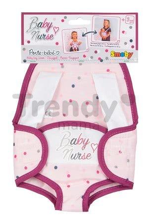 Nosič klokanka Baby Nurse Violette Smoby ergonomický pre bábiku do 42 cm