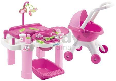 Prebaľovacia súprava pre bábiky Super Pack Écoiffier od 12 mes