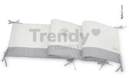 Hniezdo do postieľky Perle-Reversible Bed Bumper Kaloo od 0 mesiacov