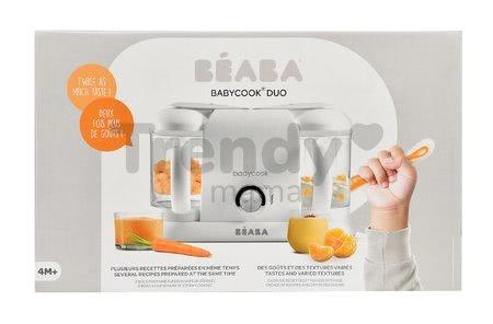 Parný varič a mixér Beaba Babycook® Duo Plus White Silver dvojitý od 0 mesiacov