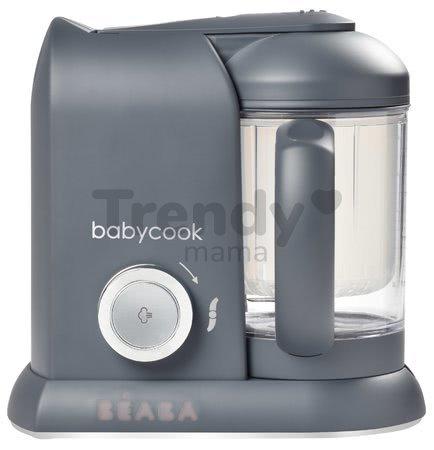 Parný varič a mixér Beaba Babycook® Solo Dark Grey od 0 mes