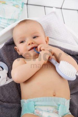 Hrebeň a kefa na vlasy Beaba Baby mineral od 0 mesiacov