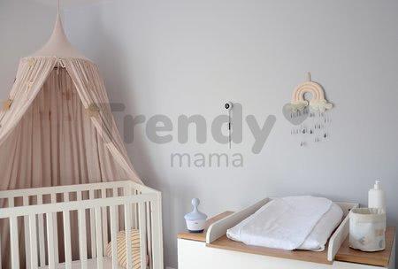 Elektronická opatrovateľka New Video Baby monitor ZEN Connect White Beaba s napojením na mobil (Android a iOS) s infračerveným nočným videním
