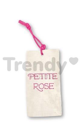 Osuška s kapucňou Petite Rose-Bath Towel Kaloo so žinkou ružová od 0 mesiacov