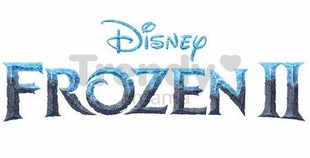 Kočík hlboký Ľadové Kráľovstvo Frozen Pram Smoby pre 42 cm bábiku s pohyblivou strieškou výška rúčky 58 cm od 18 mes