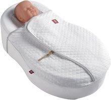 Detská deka na hniezdo na spanie Cocoonacover™ Red Castle - Fleur de coton® biela 0448166