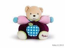 Plyšový medvídek Colors-Chubby Bear Apple Kaloo 18 cm v dárkovém balení pro nejmenší