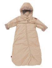 Dojčenská kombinéza Red Castle Tenderness T-zipp béžová 0-6 mesiacov - teplá vzdušná vodeodolná 0822155