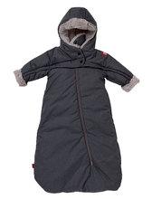 Dojčenská kombinéza Red Castle Tenderness T-zipp šedá 0-6 mesiacov - teplá vzdušná vodeodolná 0822156