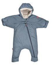 Dojčenská kombinéza overal Red Castle Tenderness T-zip od 0-6 mesiacov teplá vzdušná vodeodolná modr
