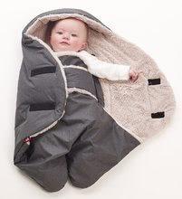 Sistem de înfăşare impermeabil pentru bebeluşi Red Castle Babynomade Tenderness 6-12 luni gri