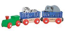 Náhradné diely k vláčkodráhe Train Animal Eichhorn rušeň s vagónmi a zvieratkami 5 dielov 24 cm dĺžka od 3 rokov EH1351