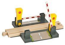 Náhradné diely k vláčkodráhe Train Level Crossing Tracks Eichhorn magnetický železničný prechod s rampami 4 diely od 3 rokov EH1506