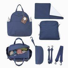 Prebaľovacia taška Infinity 5v1 toTs-smarTrike s vnútornou taškou a termoobalom na fľašu modrá