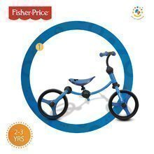 Bicicletă fără pedale Fisher-Price Running Bike 2in1 smarTrike albastru-negru de la 24 luni