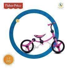 Bicicletă fără pedale Fisher-Price Running Bike 2in1 smarTrike roz-negru de la 24 luni