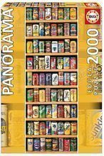 Puzzle Panorama Soft Cans Educa 2000 dílů od 13 let