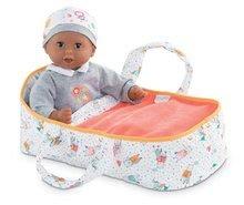 Prenosná textilná postieľka Carry Bed Coral Mon Premier Poupon Bébé Corolle pre 30 cm bábiku od 18 mes