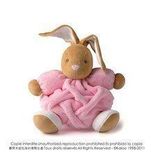 Plyšový zajačik Plume-Pink Rabbit Kaloo 25 cm v darčekovom balení pre najmenších ružový