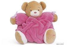 Plyšový medvídek Plume-Raspberry Bear Kaloo 25 cm v dárkovém balení pro nejmenší růžový