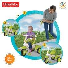 Trojkolka Fisher-Price Classic Green smarTrike od 10 mesiacov zelená
