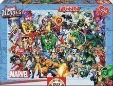 Puzzle Marvel Heroes Educa 1000 dielov od 12 rokov
