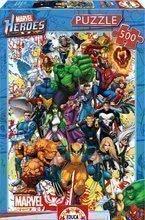 Puzzle Marvel Heroes Educa 500 de piese de la vârsta de 11 ani
