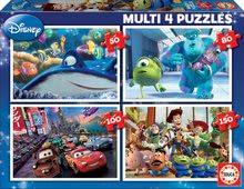 Dětské puzzle Pixar Educa 150-100-80-50 dílů od 5 let