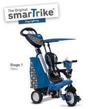 Trojkolka pre deti Dream Legend Touch Steering 4v1 smarTrike s 2 taškami od 10 mesiacov modro-čierna