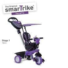 Tříkolka Dream Team Purple Black Touch Steering 4v1 smarTrike od 10 měsíců fialovo-černá