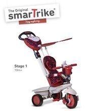 Tříkolka Dream Team Red Touch Steering 4v1 smarTrike od 10 měsíců červeno-šedá