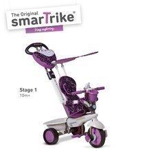 Tříkolka Dream Team Purple Touch Steering 4v1 smarTrike od 10 měsíců fialovo-šedá