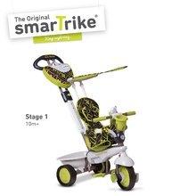 Dětská tříkolka Dream Team Green Touch Steering 4v1 smarTrike od 10 měsíců zeleno-šedá