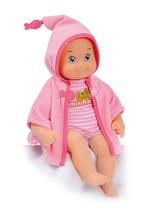 Bábika so zvukmi MiniKiss Smoby na kúpanie 27 cm od 12 mesiacov ružová