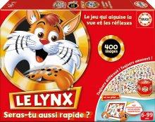 Rodinná společenská hra Le Lynx Educa 400 obrázků ve francouzštině od 6 let