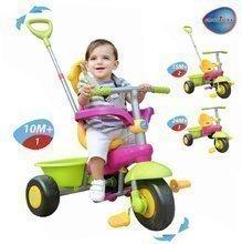 Dětská tříkolka Uno Classic smarTrike fialovozelená od 10 měsíců