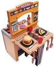 Kuchyňka s pizzou Pizzeria Écoiffier oboustranná polohovatelná se židlí a 33 doplňky od 18 měsíců