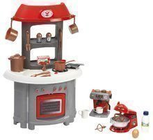 Kuchynka Superpack 3in1 Ecoiffier s kávovarom a kuchynským robotom 32 doplnkov od 18 mes ECO1694