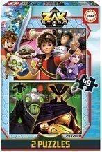 Puzzle Zak Storm Educa 2x48 dielov od 4 rokov