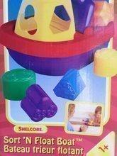 Vkladacia loďka Shelcore plávajúca farebná