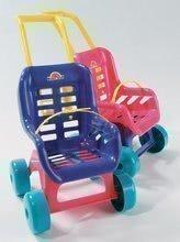 Kočík pre bábiku Bugy Dohány športový (48 cm rúčka) fialový/ružový od 18 mes