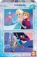 Puzzle copii Frozen Educa 2x20 buc