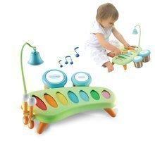 Hudební xylofon Cotoons Smoby s bubny a zvonkem od 12 měsíců