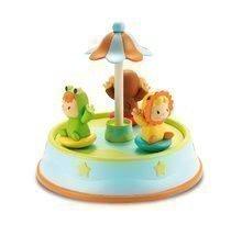 Kolotoč Cotoons Merry Smoby s tančícími figurkami a melodiemi od 12 měsíců