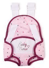 Nosič klokanka Violette Baby Nurse Smoby ergonomický pro panenku do 42 cm