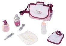 Přebalovací taška s pamperskou Violette Baby Nurse Smoby se 7 doplňky s nastavitelným popruhem
