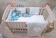 Garnitură de pat bebe Classic toTs-smarTrike pătură, cearşaf şi protector de cap bumbac 100% jersey